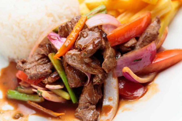 lomo de cerdo al horno peruano