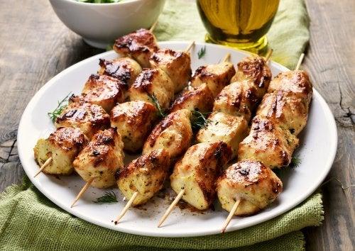 receta de pinchito de pollo