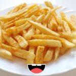 como hacer unas papas fritas caseras