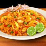 receta de arroz con mariscos peruano