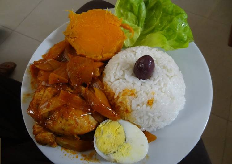 Escabeche de pollo Peruano