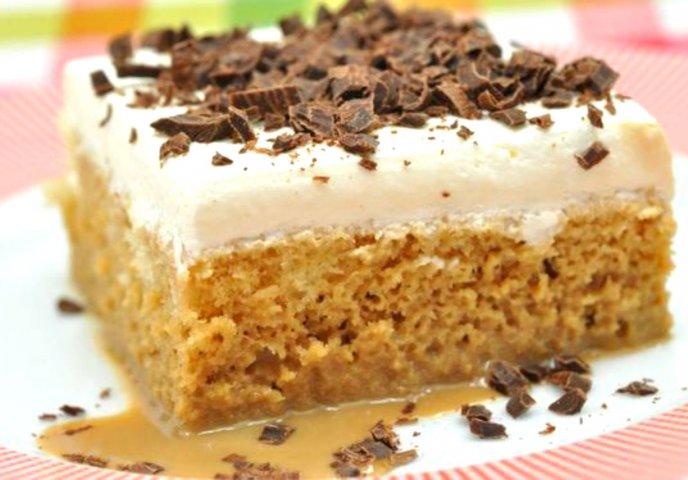 Pastel de Tres Leches con Licor de Café