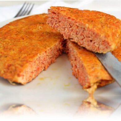 recetas para hacer tortilla de zanahoria