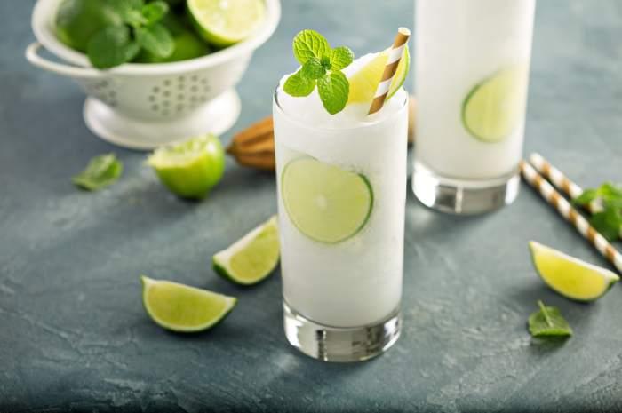 receta de Limonada frozen