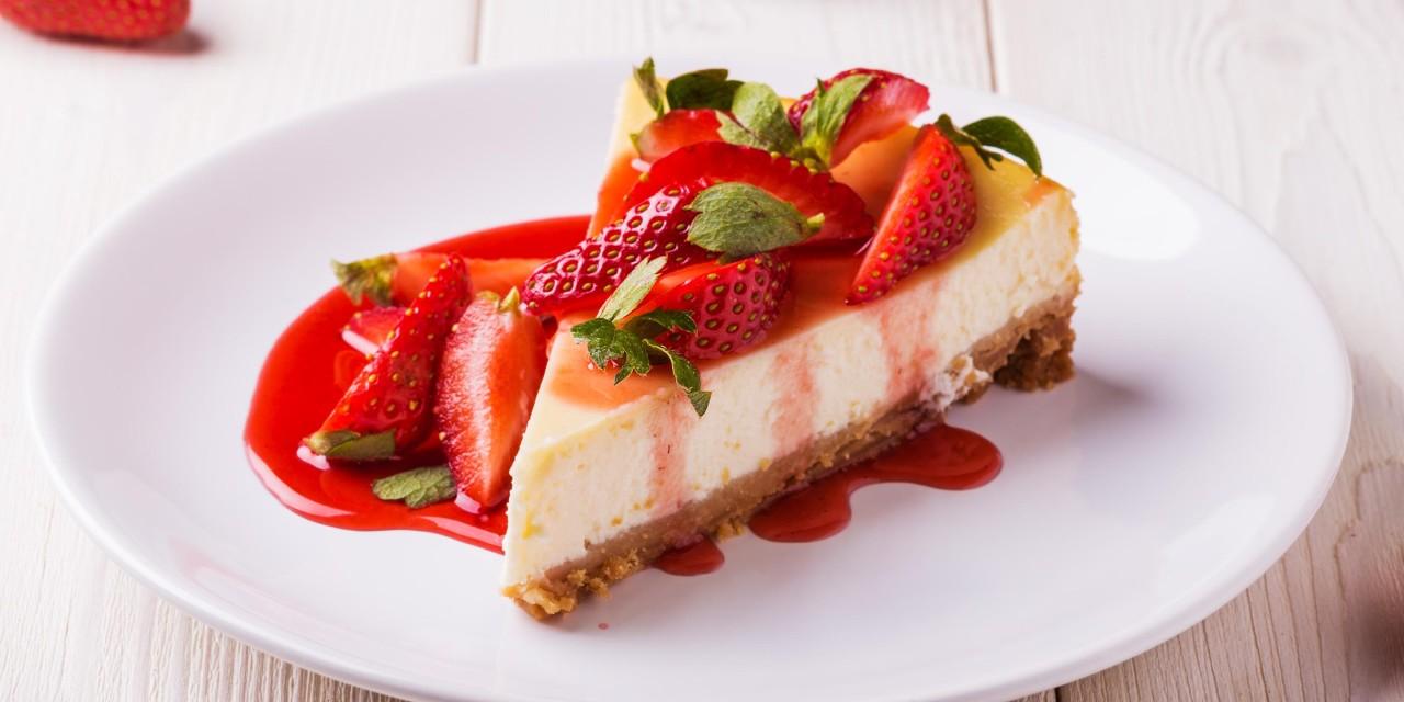 Receta de Cheesecake de fresa